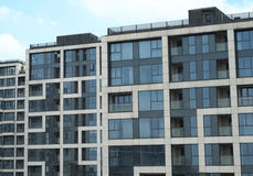 Superior Residential Buildings Royalty Free Stock Photography