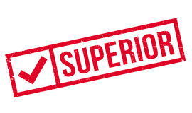 Superior rubber stamp Royalty Free Stock Photography