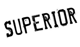 Superior rubber stamp Royalty Free Stock Images
