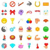 Superiority icons set, cartoon style. SSperiority icons set. Cartoon style of 36 superiority vector icons for web isolated on white background vector illustration
