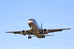 Superjet 100 Aeroflots Sukhoi Lizenzfreie Stockfotos