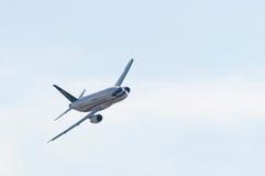 superjet för sukhoi 100 Royaltyfri Bild