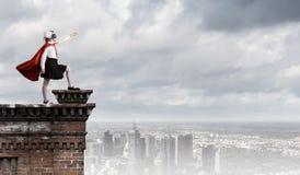 Superkid coraggioso Fotografia Stock Libera da Diritti