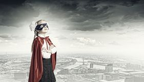 Superkid corajoso Imagem de Stock