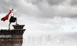 Superkid corajoso Fotografia de Stock