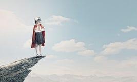 Superkid valiente Fotos de archivo libres de regalías