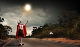 Superkid valiente Foto de archivo