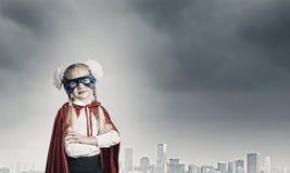 Superkid valiente Fotografía de archivo libre de regalías