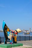 Superlambanana, Liverpool. Stock Photography