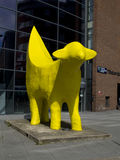 Superlambananabeeldhouwwerk in het detail van Liverpool Royalty-vrije Stock Foto