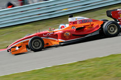 SuperLeague Formula AS Roma Stock Image