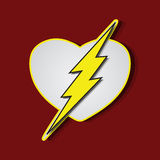 Superlove heroes flash Stock Images