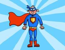 Supermán ilustración del vector