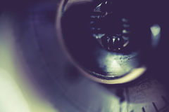 Supermacro of Camera Details Royalty Free Stock Photography