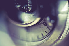 Supermacro of Camera Details Royalty Free Stock Images