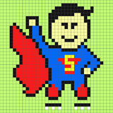 superman Foto de Stock