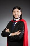 Superman concept with man Stock Photos