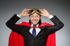 Superman concept with man Stock Photography