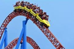 Superman Escape in Movie World Gold Coast Queensland Australia Stock Photo