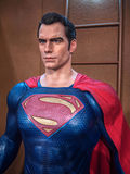 Superman. Figure on display as a promotion for the movie Batman v : Dawn of Justice in Hong Kong royalty free stock photos