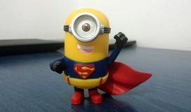 Superman Minion Stock Afbeelding