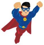 Superman na máscara ilustração do vetor