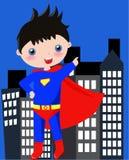 Superman pequeno Fotografia de Stock Royalty Free
