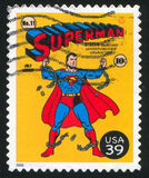 Superman. UNITED STATES - CIRCA 2006: stamp printed by United states, shows superman, circa 2006 stock photography