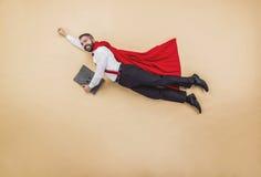 Supermanager Stockbild