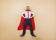 Supermanager Stockfoto
