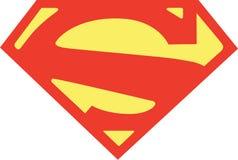 Supermankwestie 1 het symbool van 2011 S royalty-vrije illustratie