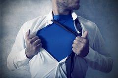 Supermann stockfotografie