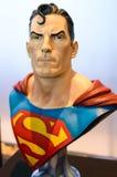 Supermannmodell in komischem Betrug 2014 Thailands Stockbild
