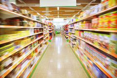 Supermarché photo stock
