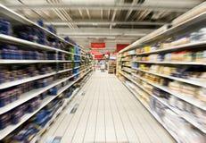 Supermarché Photo libre de droits
