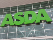 Supermarché ASDA géant Photo libre de droits