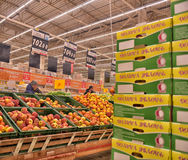 Supermarché d'épicerie Photographie stock libre de droits