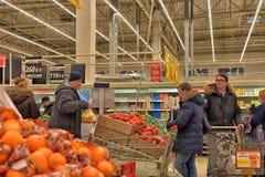 Supermarché d'épicerie Image stock