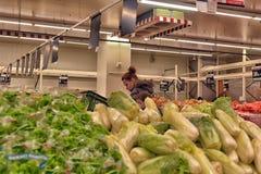 Supermarché d'épicerie Photos stock