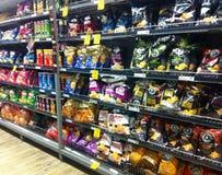 Supermarché de casse-croûte Photographie stock libre de droits