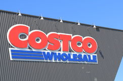 Supermarché de Costco photo stock