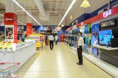 Supermarché de Hyperstar Photo stock