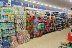 Supermarché de Lidl photographie stock libre de droits