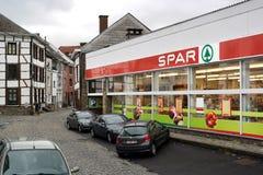 Supermarché de LONGERON photo stock