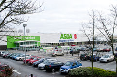 Supermarché de minworth d'Asda Photo stock