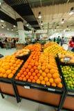Supermarché Waitrose de Dubaï le 8 août je Photos stock