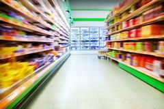 Supermarché Photographie stock