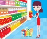 Supermarché Images libres de droits
