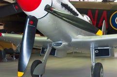 Supermarine烈性人Mk 24 VN485,在皇家战争博物馆Duxford 库存图片