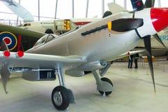 Supermarine烈性人Mk 24 VN485,在皇家战争博物馆Duxford 库存照片